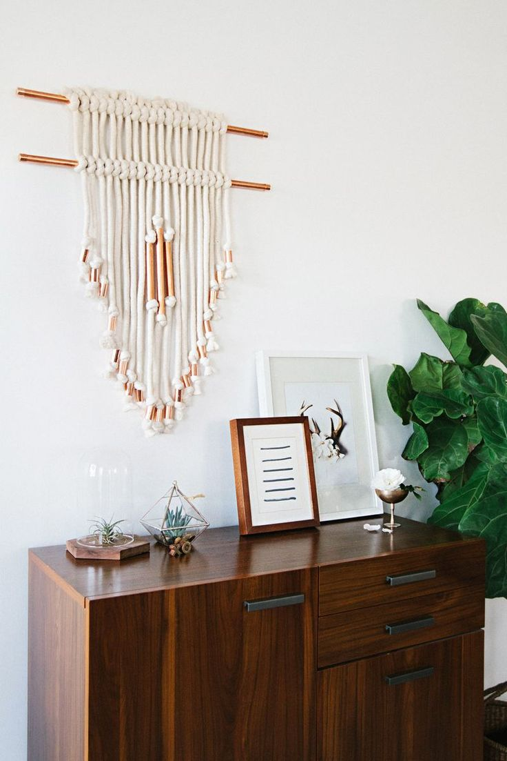 diy copper macrame