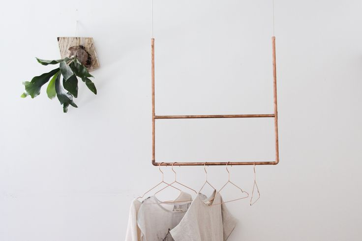 diy copper rack
