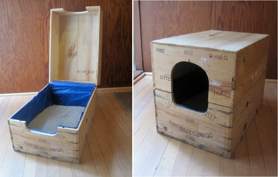 Top 10 Ingenious Ways To Hide Your Catu0027s Litter Box Nice Ideas