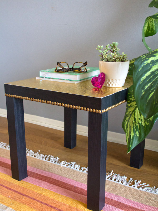 15 diy ikea lack table makeovers you can try at home. Black Bedroom Furniture Sets. Home Design Ideas