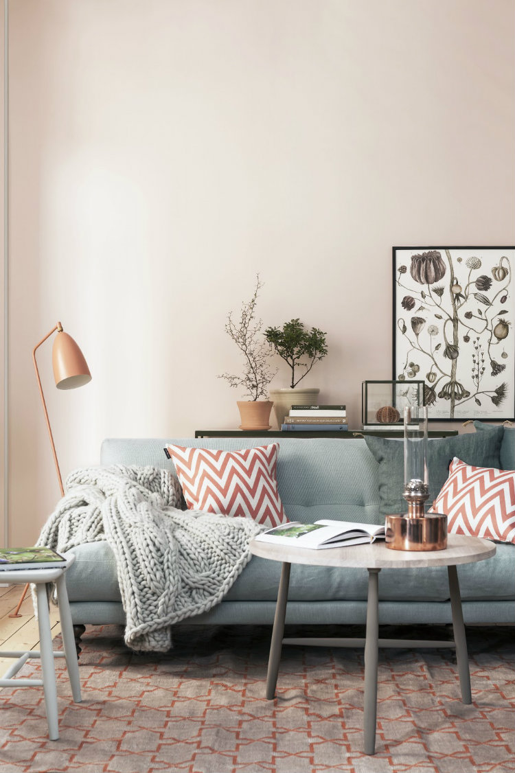 Trend Spotter: Decorating with Dusty Pink