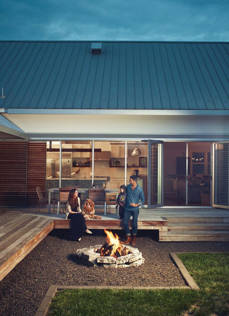 firepit deck