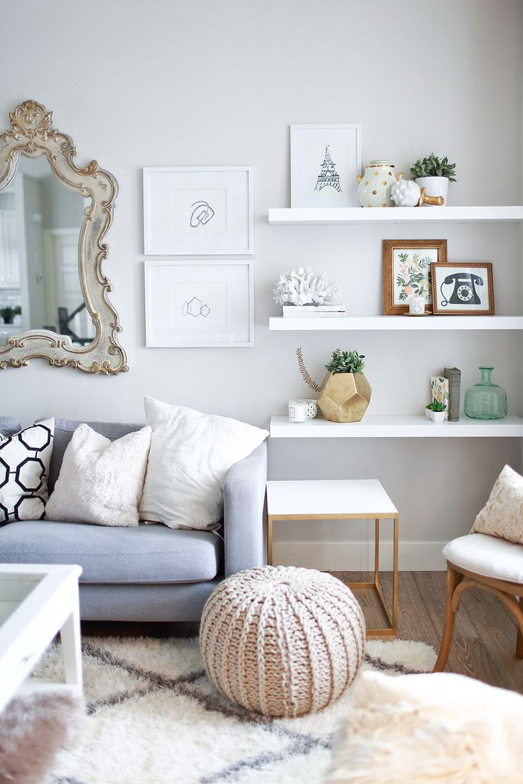 Shelves White Walls And Entry Ways: 10 Ways To Work With Floating White Shelves