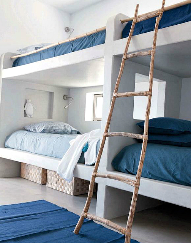 four bunks