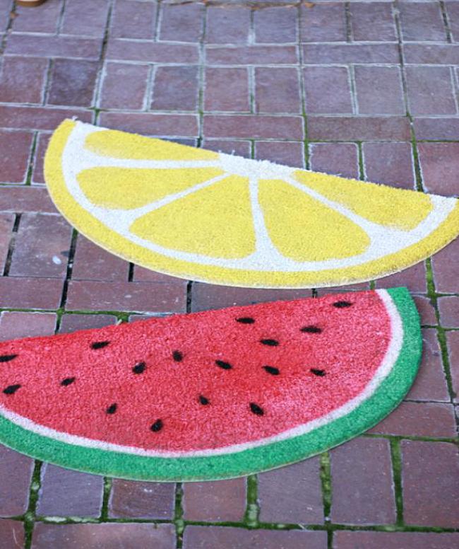 fruit mats