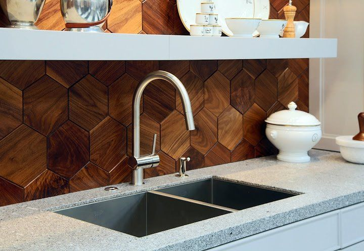 geometric-wood-backsplash