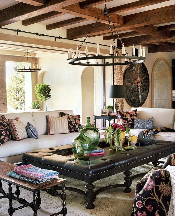 Great Spanish Living Room Design