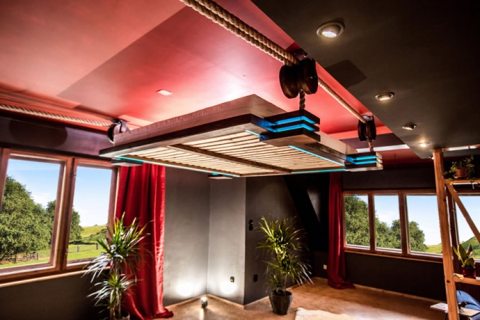 Hanging Bed Designed By Wiktor Jazwiec Ceiling