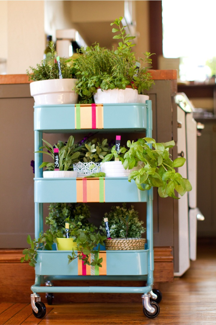 Tiered Gardens On Wheels