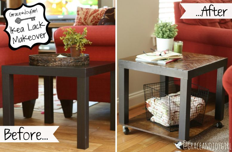 15 diy ikea lack table makeovers you can try at home for Ikea table 9 99