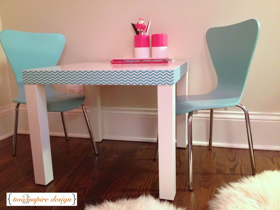 Old Dining Room Table Makeover