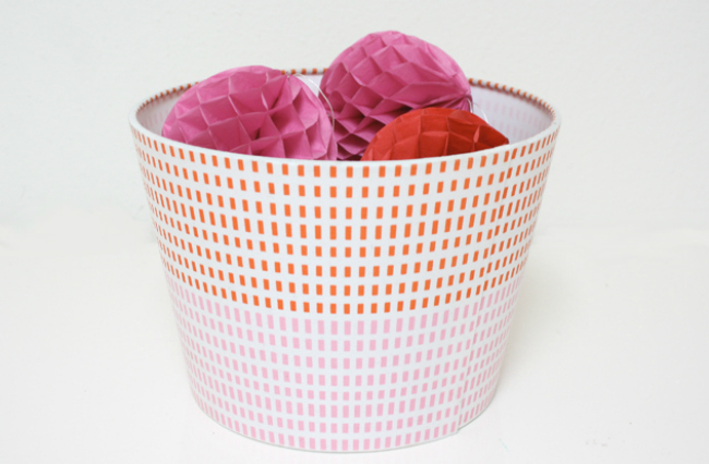 lampshade basket