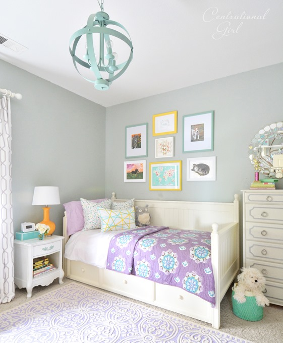 Vintage Room Ideas Green And Lavender