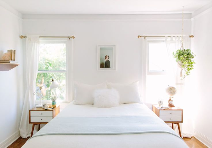 11 tips to styling your minimal bedroom for Small room minimal design