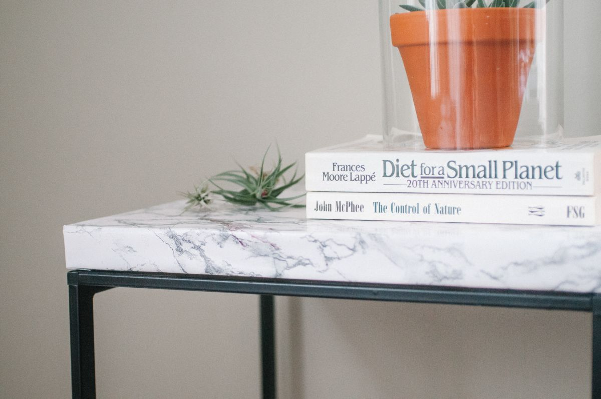Marble Top Table Ikea Hack