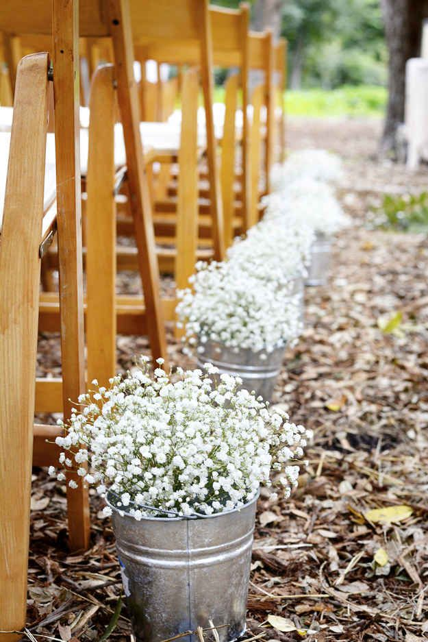 Metalic Cans For Wedding Decor View In Gallery
