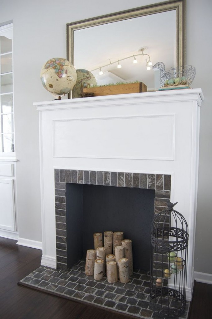 Charmant Beautiful Ways To Style U0026 Decorate A Faux Fireplace