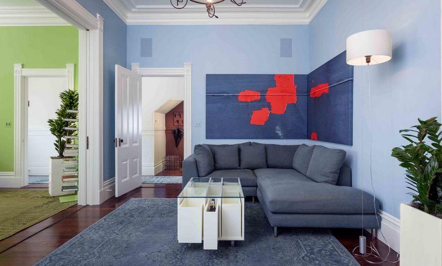 modernes und zeitgemäßes Wohnzimmer