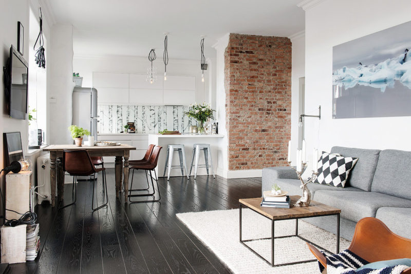 Nordic Apartment Enhanced By Its Eclectic Decor