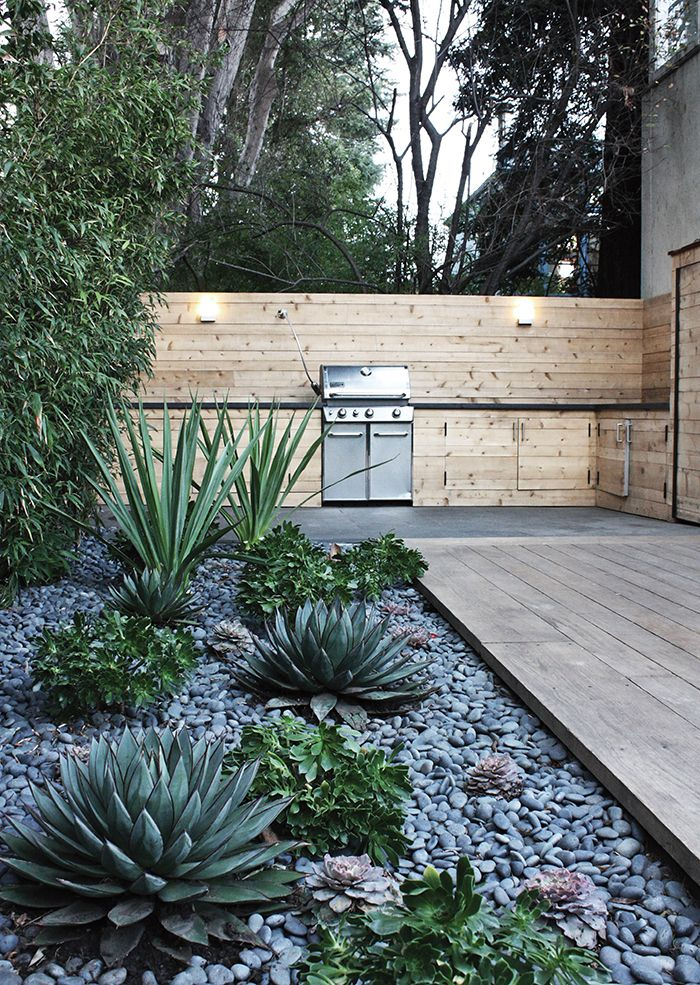 outdoor kitchen deck