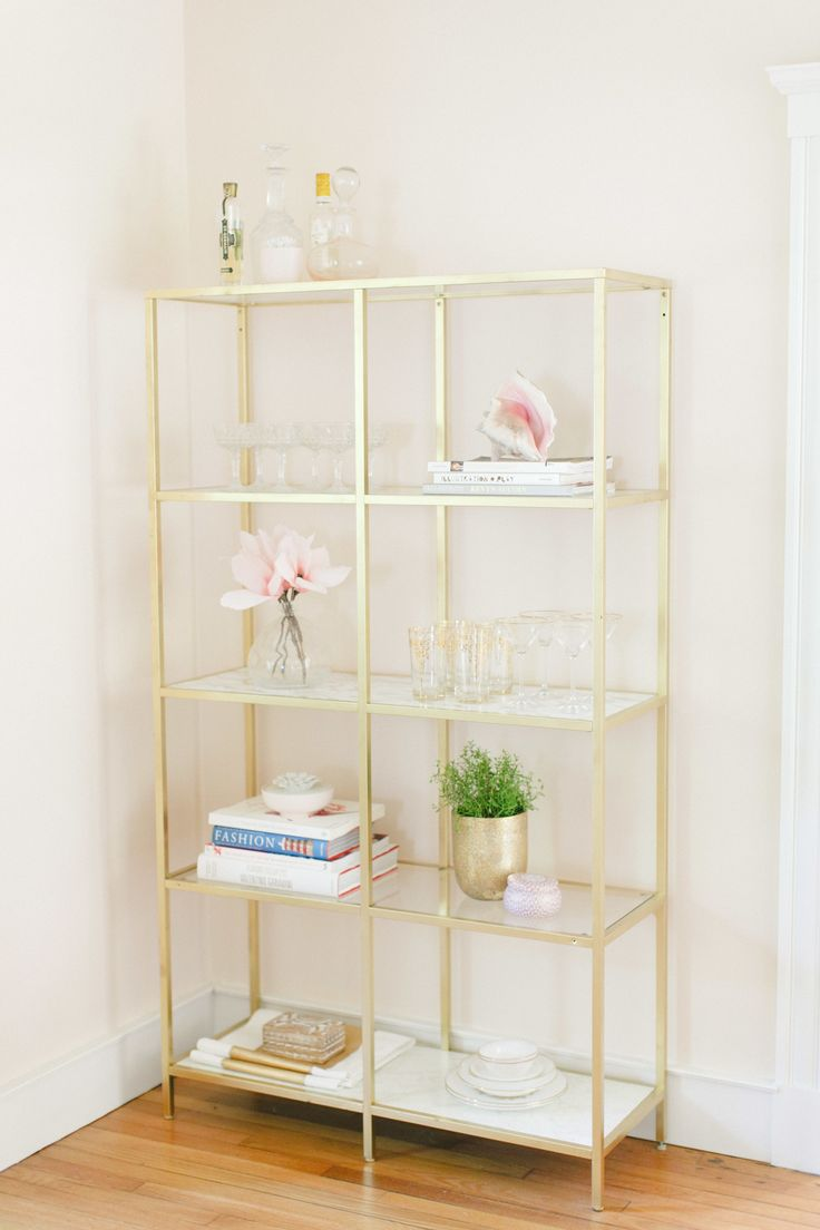 painted shelving