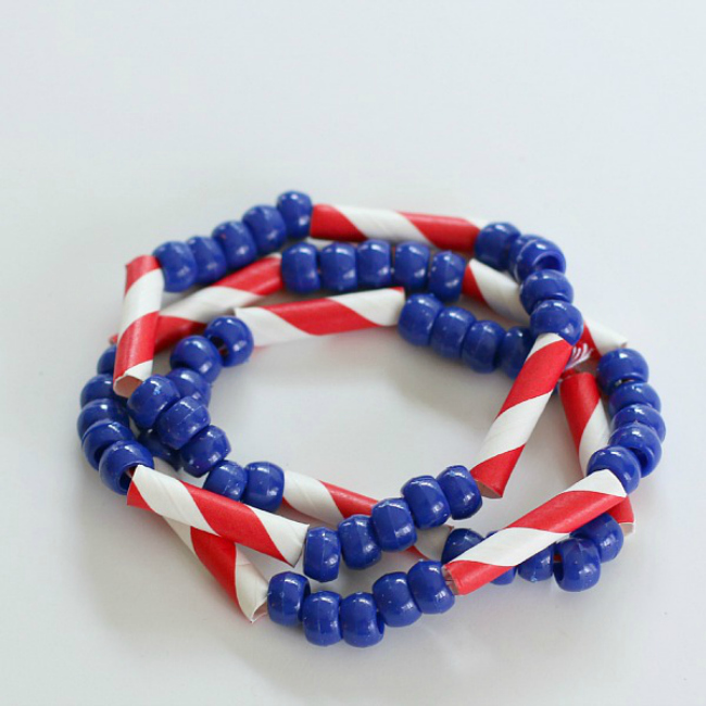 patriotische Halsketten