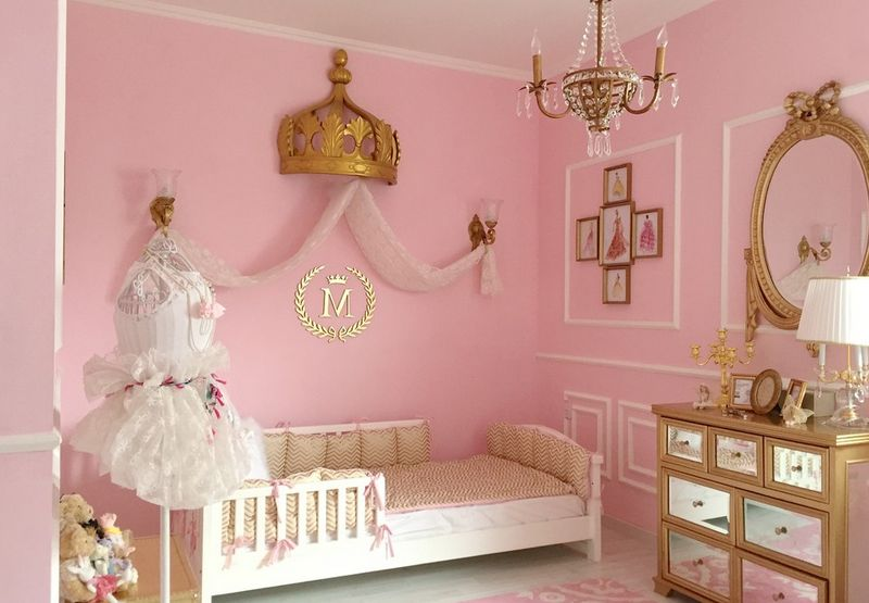delightful Toddler Room Decor Girl Part - 7: Princess.
