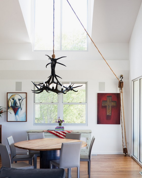 Pulley Chandelier Hanging System