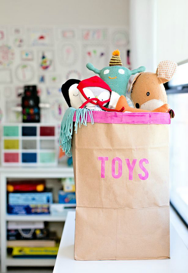recycled toy bin