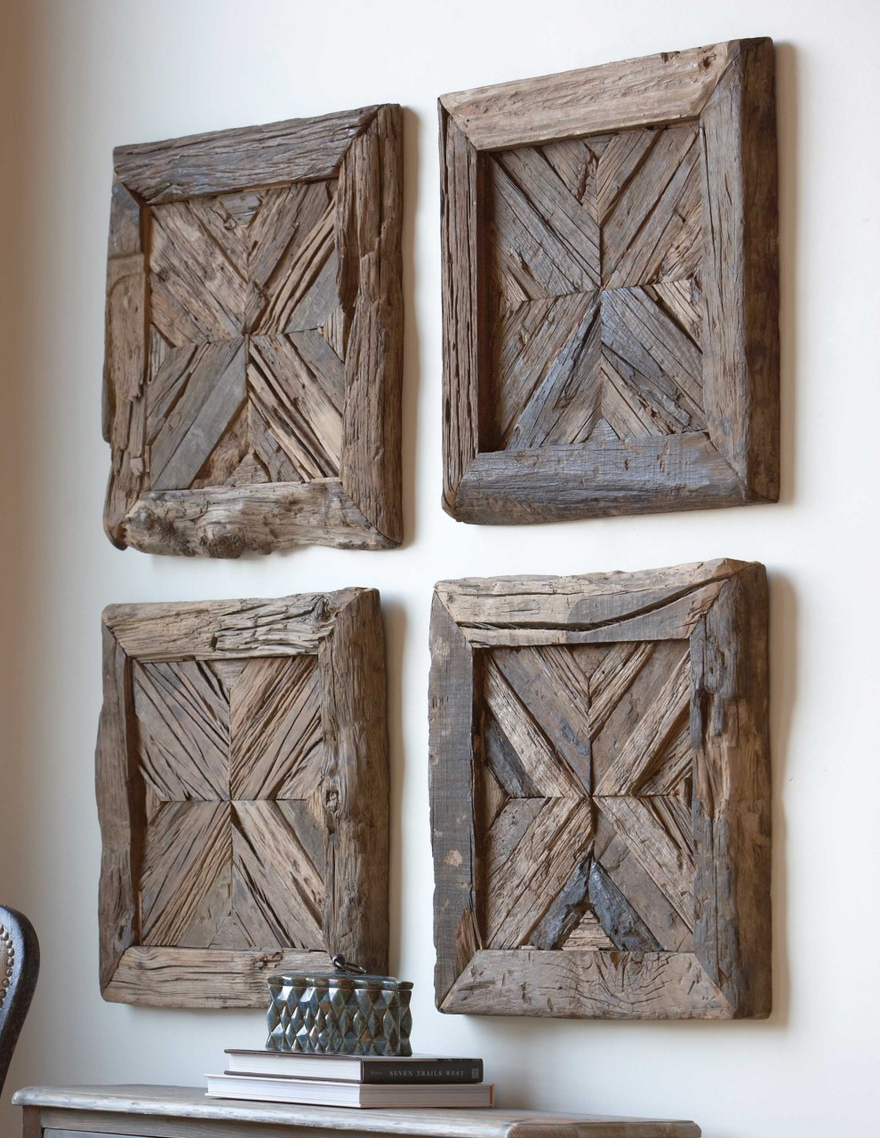 20 versatile rustic decor pieces for your home for Wall decoration ideas pinterest