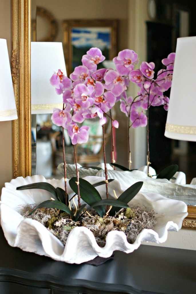 19 Fun Ways To Style The House And Decorate With Orchids