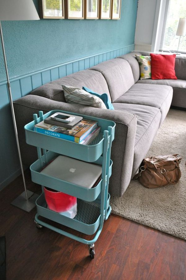 36 Creative Ways To Use The RÅskog Ikea Kitchen Cart Side Table Alternatives Bar