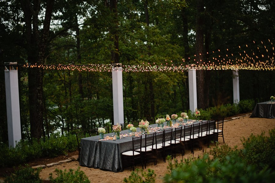 Outdoor Christmas Party Ideas Part - 21: Outside Party Ideas. String-lights-spectacular-design-for-party