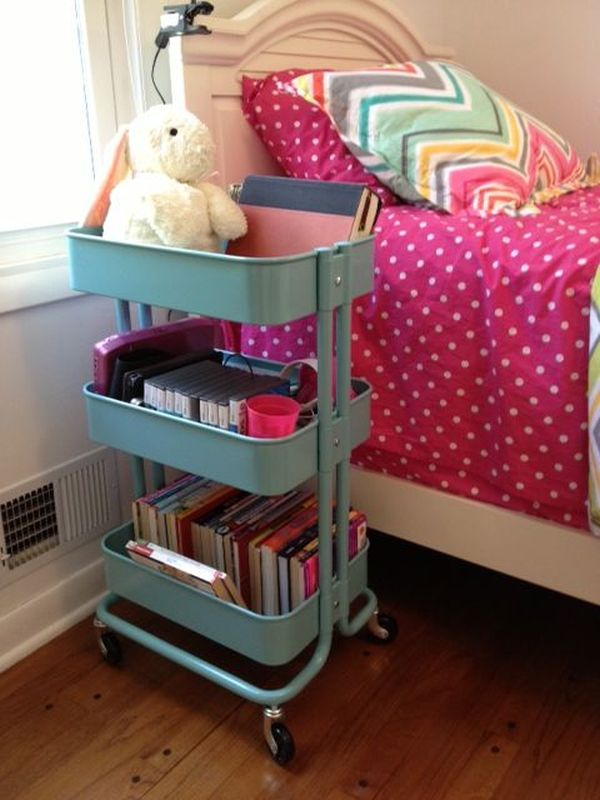 36 Creative Ways To Use The RÅskog Ikea Kitchen Cart Age Bedroom Colorful Rolling Stand