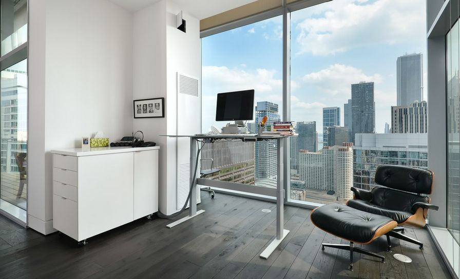 office trend. standing while working u2013 the new and improved office trend