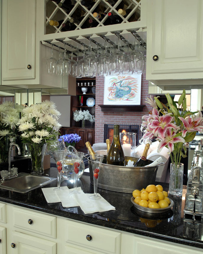 Clever Ways Of Adding Wine Glass Racks To Your Home S Decor