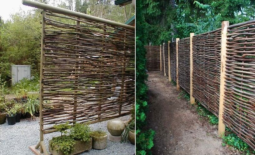 Use Wattle As A Fencing Material