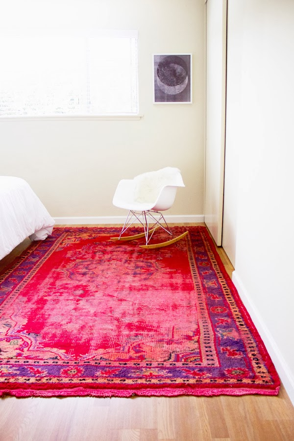 Thinking Outside The Box - How To Decorate With Overdyed Rugs