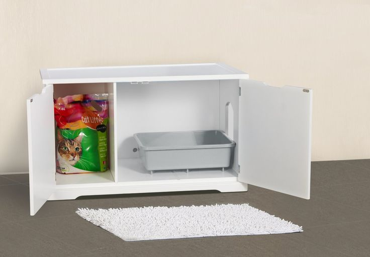 Marvelous Top 10 Ingenious Ways To Hide Your Catu0027s Litter Box Idea