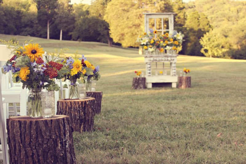 Wedding Tree Stumps Must Have