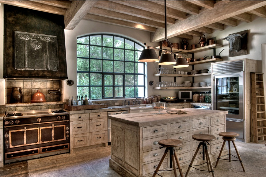 white-washed-rustic-kitchen