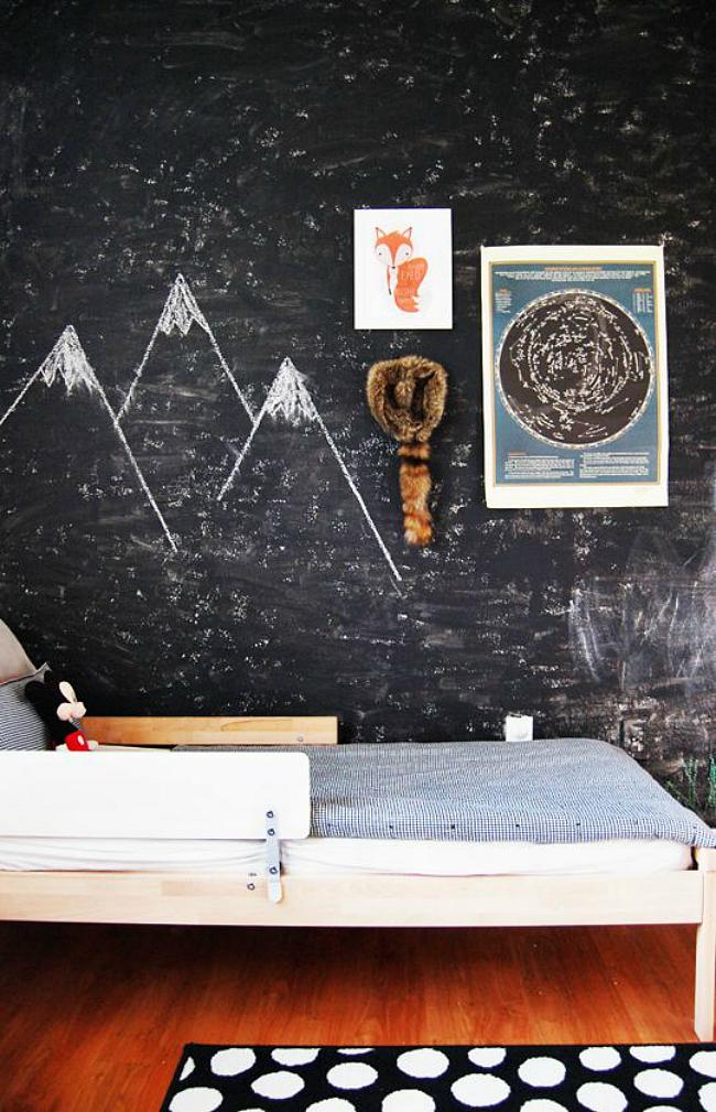 woodland chalkboard