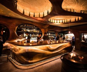 At The Junction Between Art And Restaurant Inside The New Bar Raval