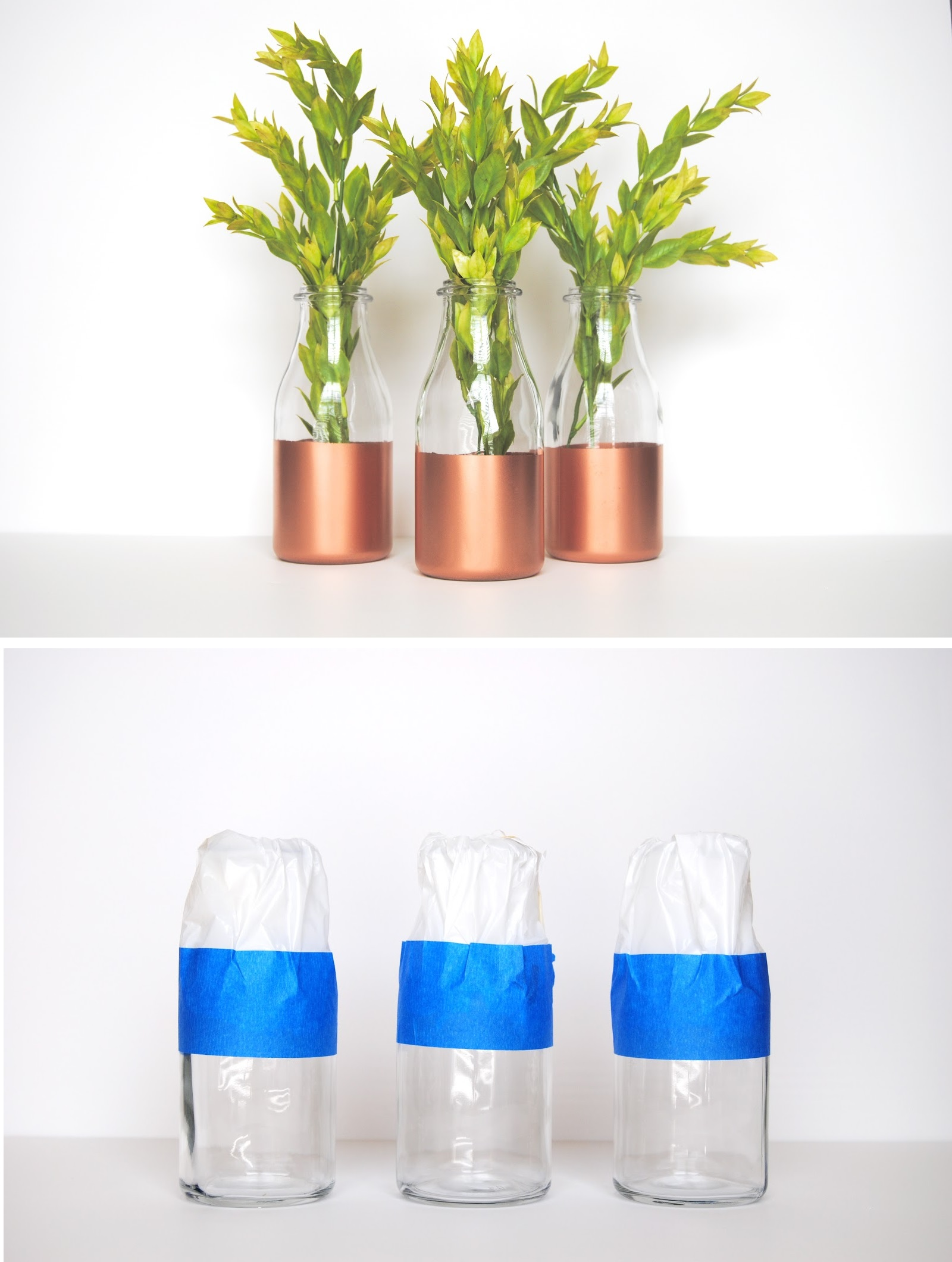 Bottle copper spray bottles