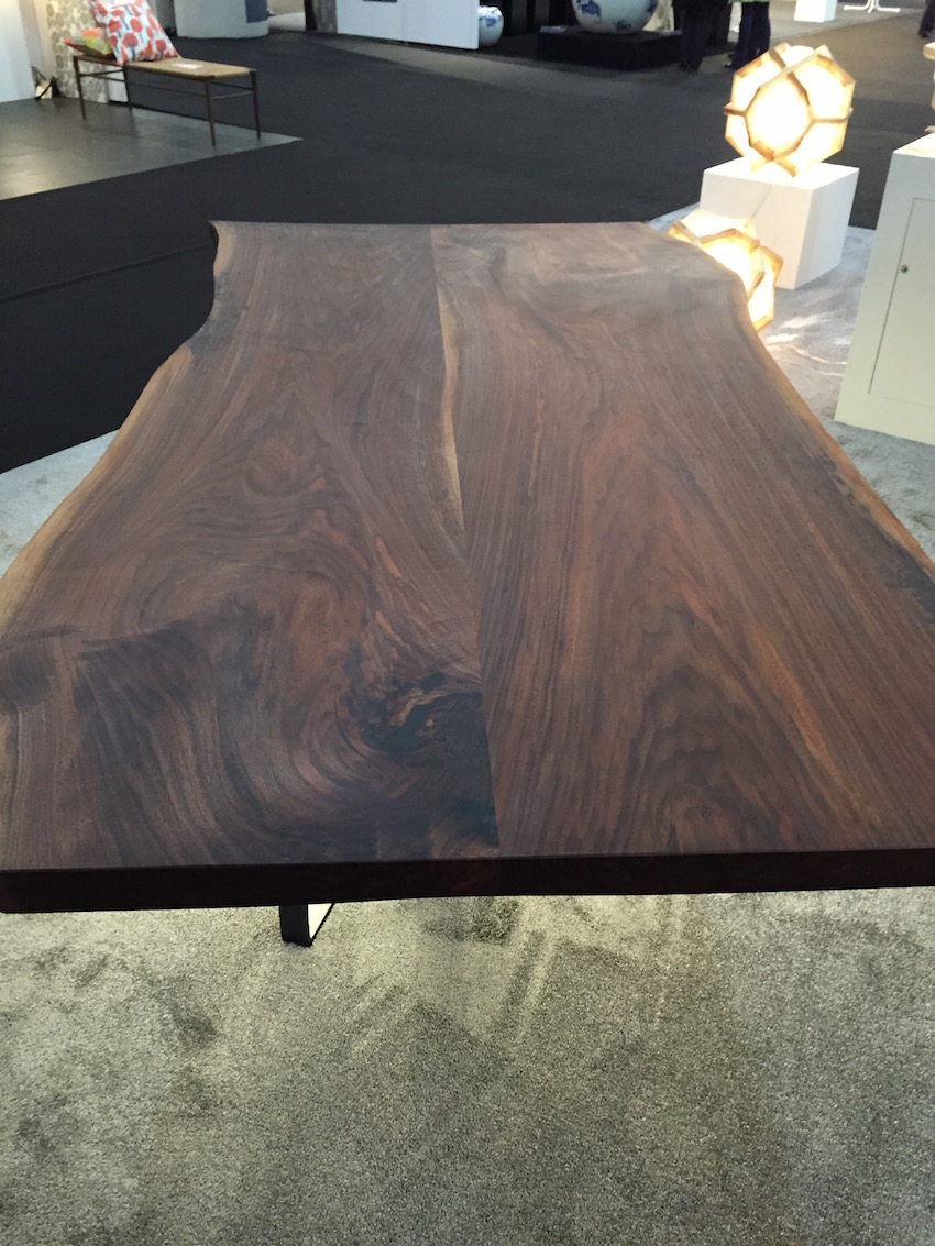 Cherrywood ICFF table closeup