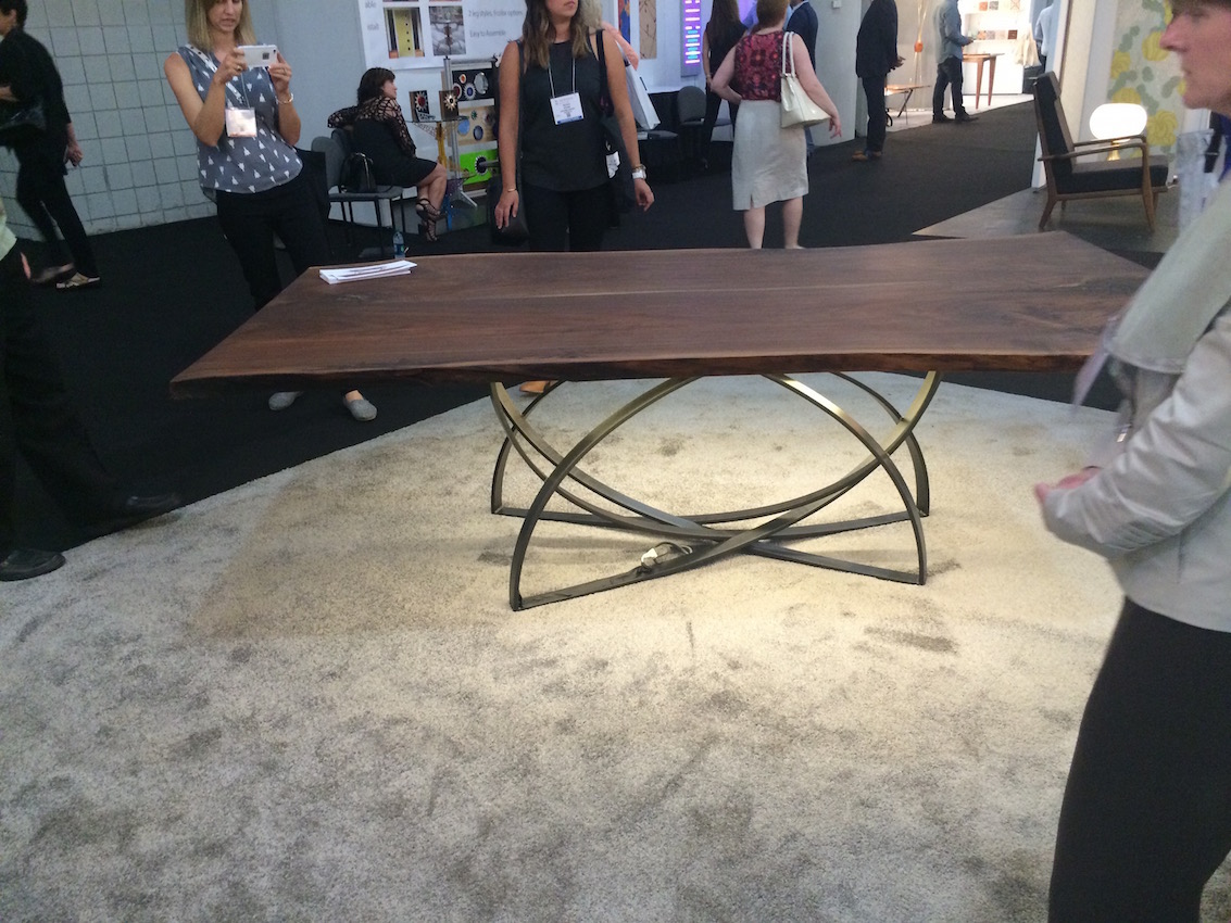 Cherrywood Studio ICFF Table