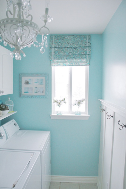 Clean And Refreshing Laundry Room