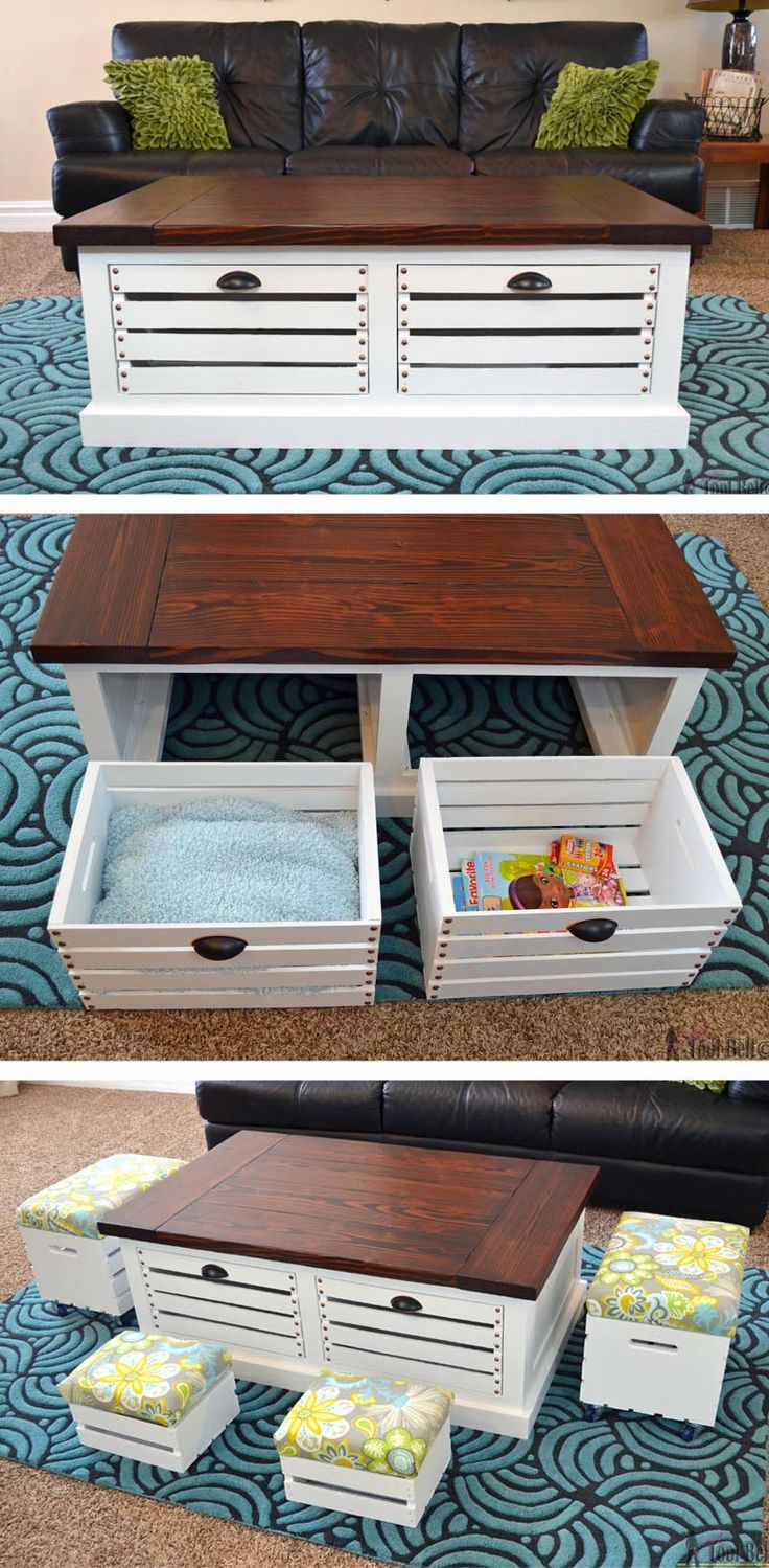 Crate Storage Space Saving for Kids