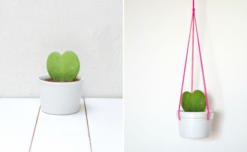 DIY-Hanging-Planter-Swinging