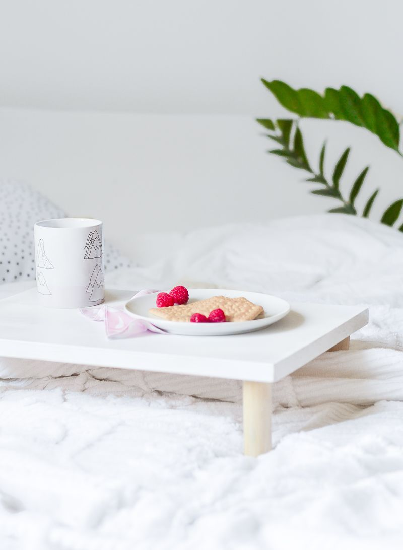 DIY Multifunctional Wooden Breakfast